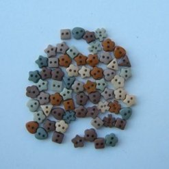 Jesse James Beads 美式造型鈕釦 Sew Thru Autumn Elements 2216